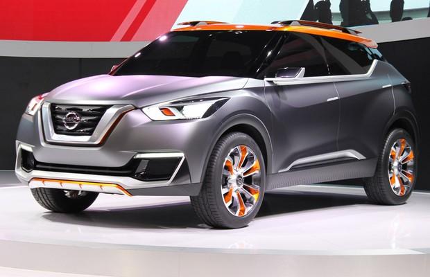 O conceito Nissan Kiks – produto terá pequenas mudanças