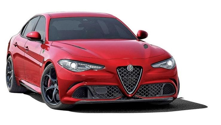 Alfa Giulia inspirada em BMW 3 ?
