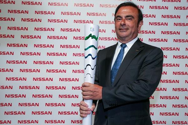 Carlos Goshn, CEO da Nissan