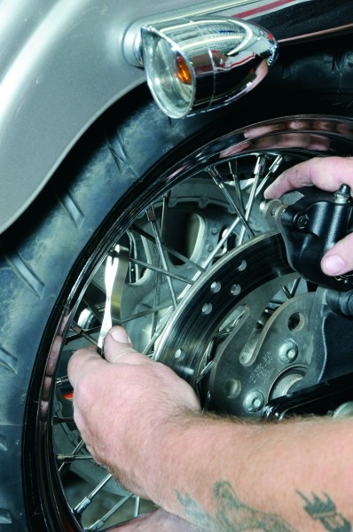 101693, Value of Service, Service Department, mechanics, dealership, technicians, shop, tools, detail, spoke wrench, torque, tension