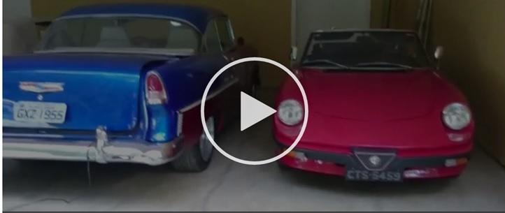 O Alfa Spider placas CTS 5459