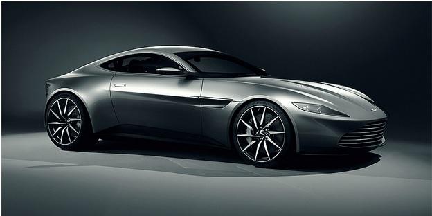 Aston Martin DB10 do filme Spectre, de James Bond