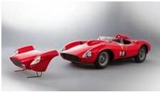 Ferrari 335 Sport Scaglietti, quase US$ 36M