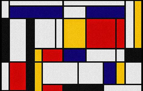 Obras famosas de Mondrian invadem o CCBB.