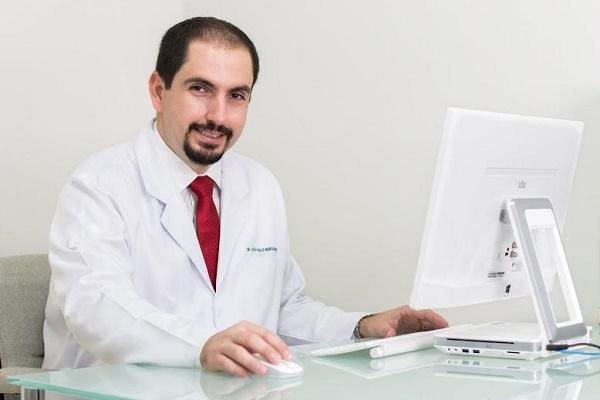 O ortopedista Dr. João Bergamaschi