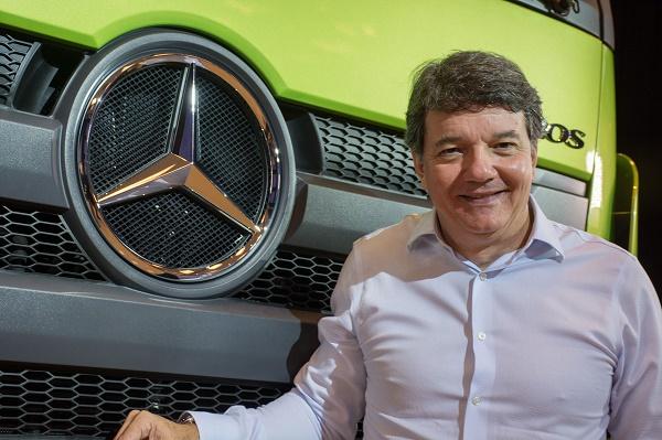 Roberto Leoncini, vice-presidente de Vendas, Marketing e Pós-Venda de Caminhões e Ônibus da Mercedes-Benz do Brasil - foto Malagrine