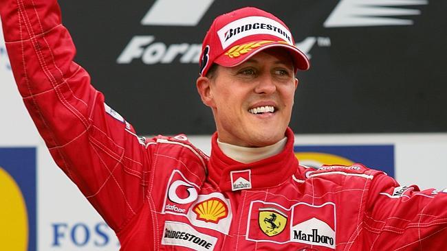 Michael Schumacher, o terceiro