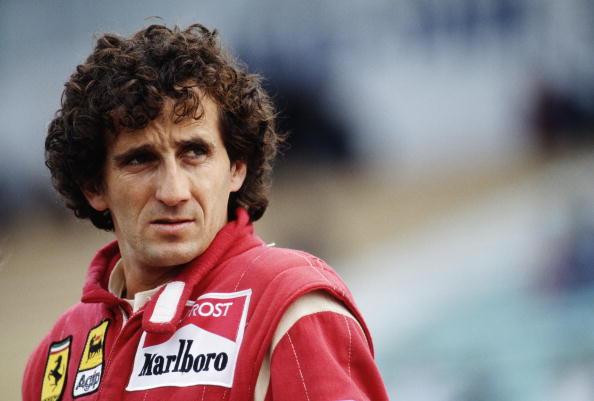 Alain Prost, o segundo colocado