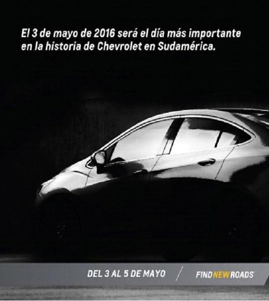 Primeira imagem distribuída pela GM
