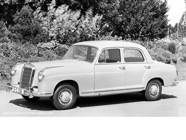 Mercedes começaria no Brasil com o 190 ...