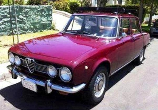 IAPSA 2.000, licença Alfa Romeo. Agora carro de coleção