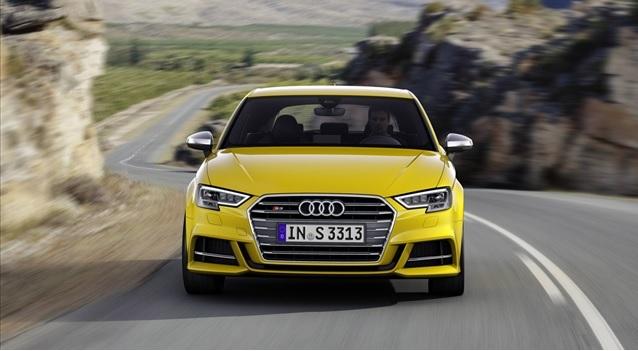 Novo Audi A3 europeu. Aqui só em 2017