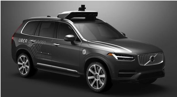 Uber em Pittsburg irá em Volvo autônomo. (foto Uber)
