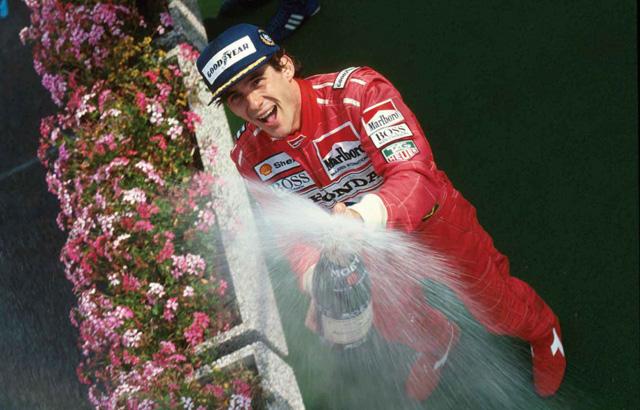 Ayrton Senna, então na McLaren-Honda, venceu o GP da Bélgica de 1991