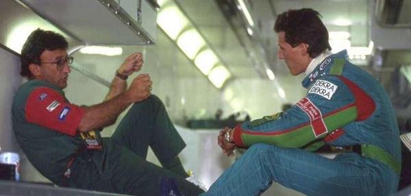 Schumy e Eddie Jordan