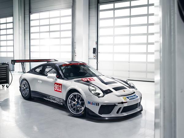 Porsche 911 GT3 Cup, carro-de-corridas feito em série