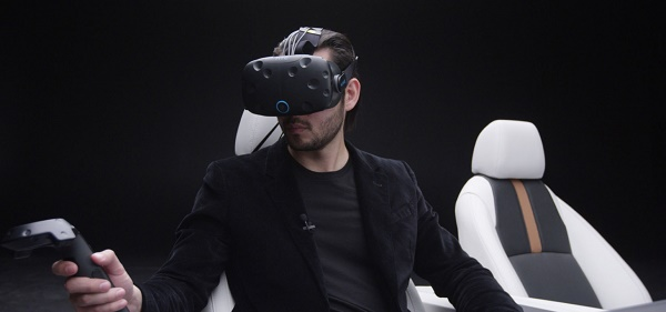 Honda Dream Drive uses a VR headset to immerse passengers in a virtual reality world triggered by the motion of the vehicle.